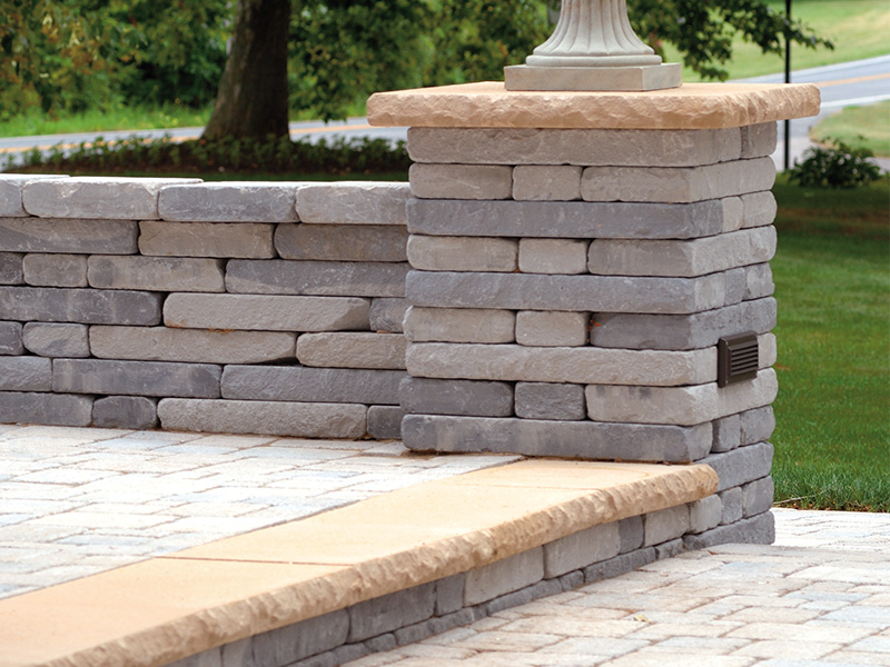 Chapel Stone® Garden Walling, pillar caps