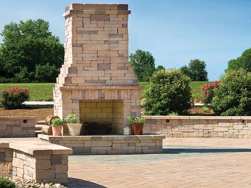 Chapel Stone® Garden Walling, Wall Caps, Fireplace