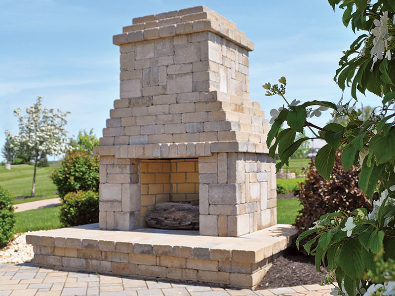 Ammon's Wall®, Fireplace
