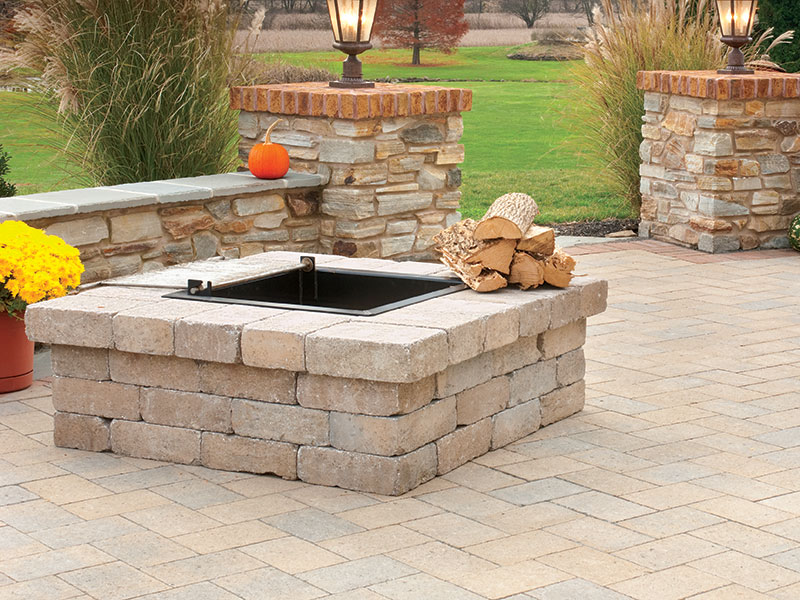 Firepit Kit Square - Firepit Kits