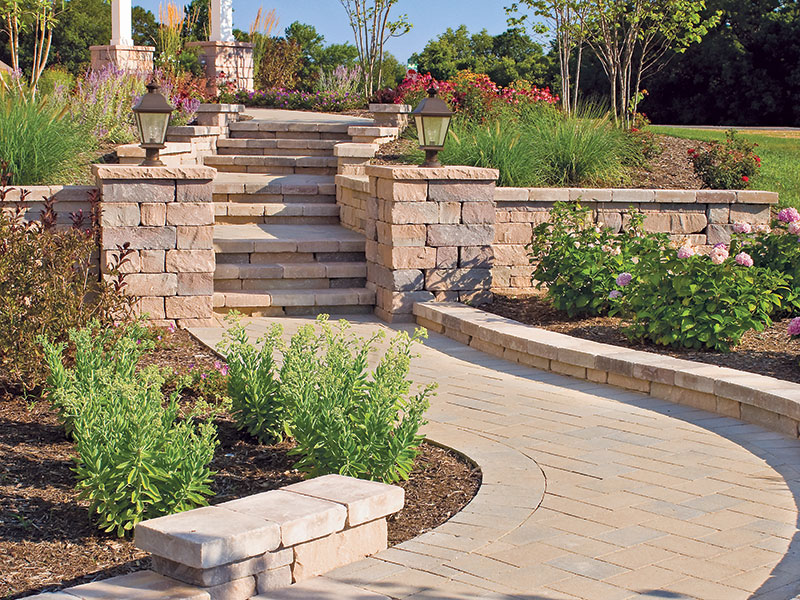 Chapel Stone® Garden Walling, Wall Caps, Pillar Caps