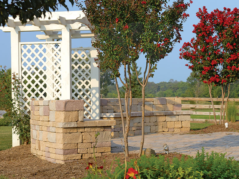 Chapel Stone® Garden Walling, Wall Caps